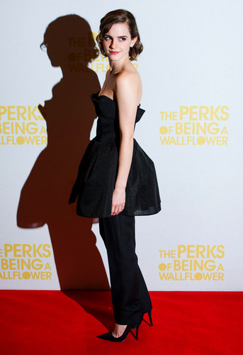 Emma at the 'Perks Of Being A Wallflower' Screening