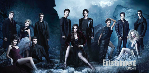 Entire Cast Season 4 - the-vampire-diaries-tv-show Photo