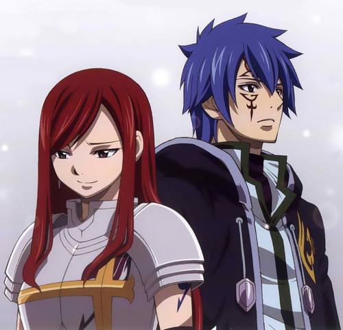 Erza and Jellal me 2 you...