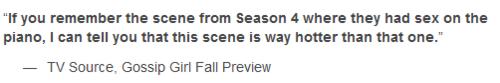 Fall Preview: 'Gossip Girl's' final season
