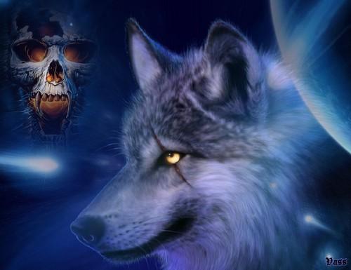 Fantasy wolves