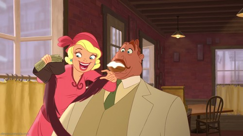 Few Screencaps of The Princess and The Frog