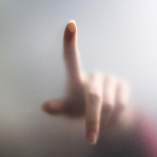 Finger on Glass