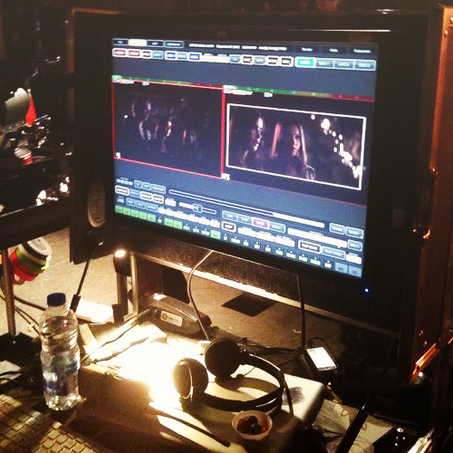 "First image of ""The Mortal Instruments: City of Bones"" from the editing room."