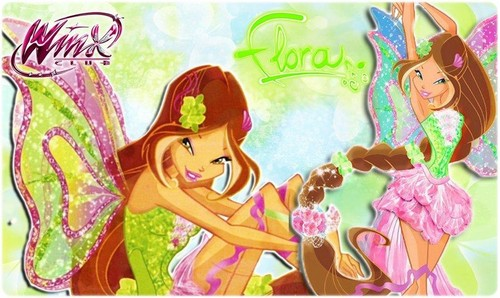 Flora Harmonix; Wallpaper