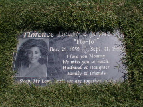 The Gravesite Of Florence-Griffith Joyner