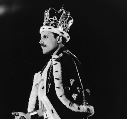 Freddie Mercury, King of Queen