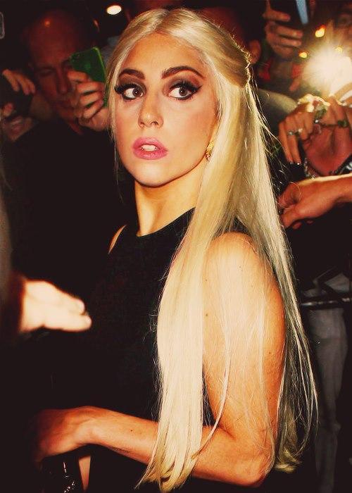 Gaga in Milan