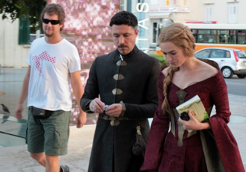 Game of Thrones wallpaper titled Game of Thrones- Season 3 - Filming in Dubrovnik