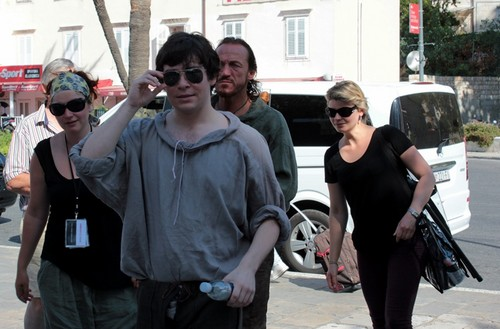 Game of Thrones wallpaper containing a street titled Game of Thrones- Season 3 - Filming in Dubrovnik