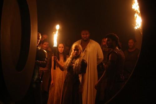 Daenerys Targaryen, Doreah & Xaro