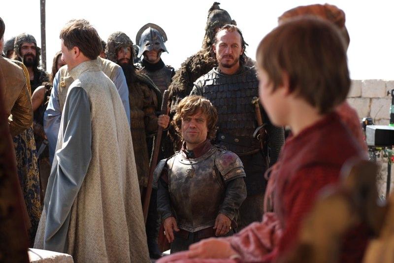 Tyrion Lannister & Bronn