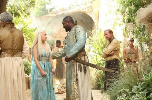 Jorah, Daenerys & Xaro