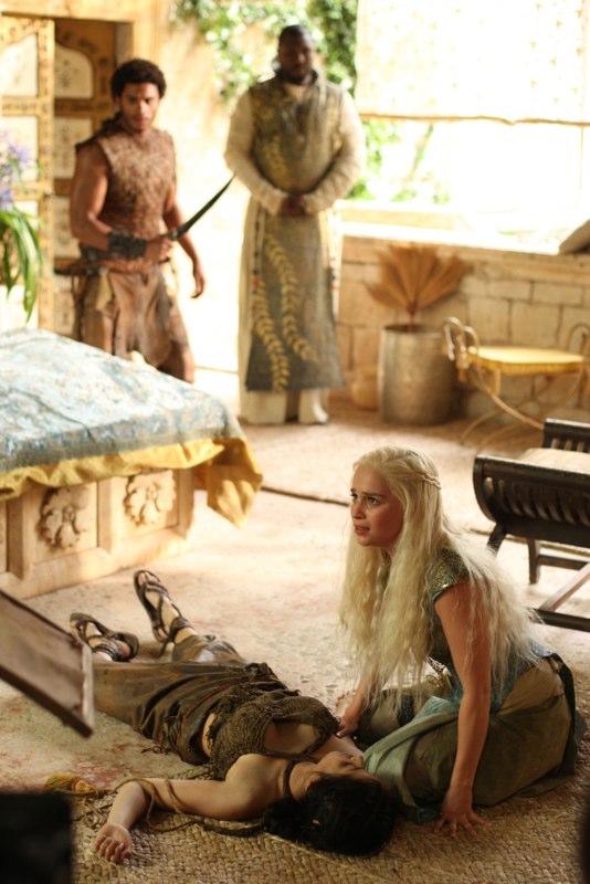Daenerys Targaryen & Irri