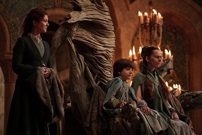 Catelyn Stark & Lysa, Robin Arryn