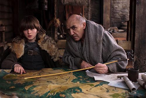 Bran Stark & Maester Luwin