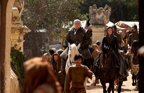 Catelyn Stark & Rodrik Cassel