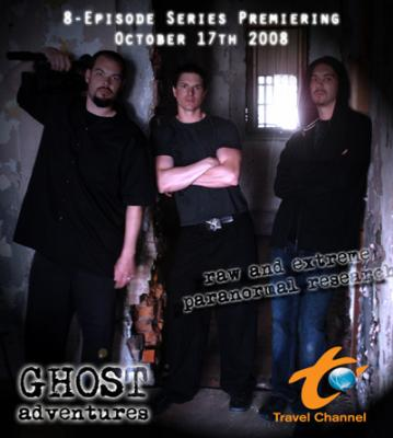 Ghost Adventures wallpaper with a sign entitled Ghost Adventures