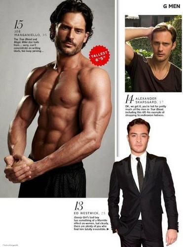 "Glamour UK Magazine - ""Sexiest Men 2012"""