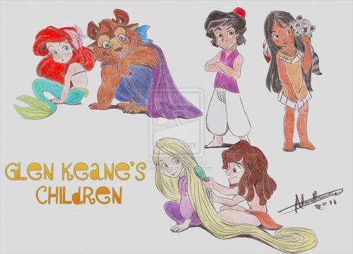 Glen Keane's children