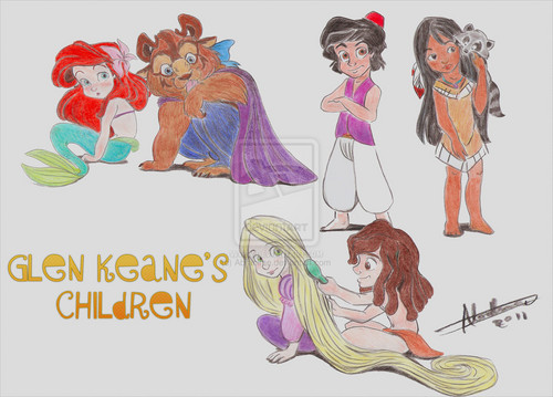 Glen Keane's children