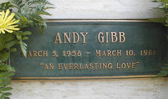 Gravesite Of Andy Gibb
