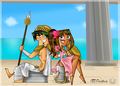 Greek Gods - total-drama-island fan art