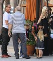 Gwen celebrates 43 years, Via Alloro October 3, 2012 - gwen-stefani photo