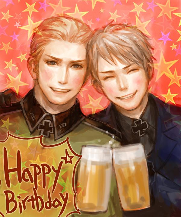 HAPPY BIRTHDAY GERMANY!!!