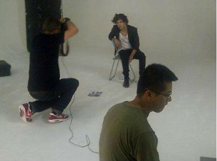 Harry magazine photoshoot