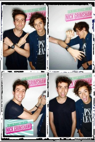 Harry styles ,BBC Radio 2012