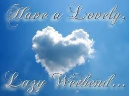 Have a lovely weekend Sunny x
