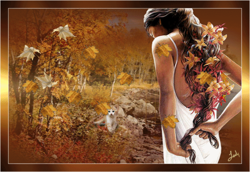 soñar despierto fondo de pantalla titled Have a magical autumn Princess