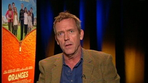 Hugh laurie Interview The Oranges