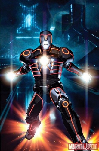 Iron Man wallpaper probably with a breastplate, an armor plate, and anime titled IRON MAN
