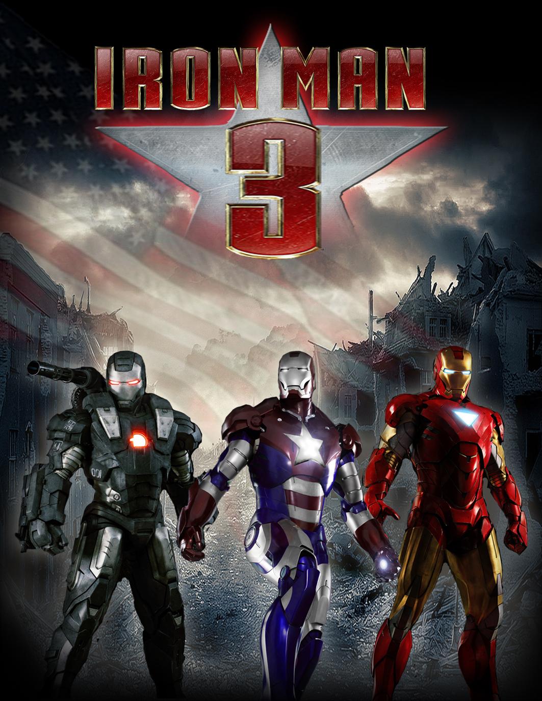 group of iron man 3 movies