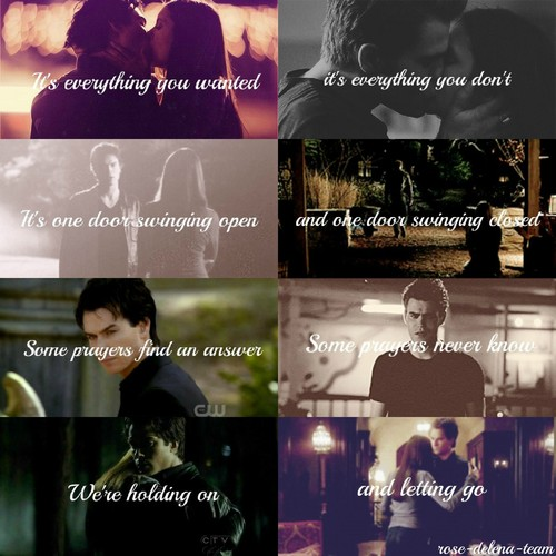It's everything Ты wanted. DElena ♥