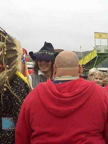 Johnny Depp at Comanche Nation Fair 2012, Sep 29