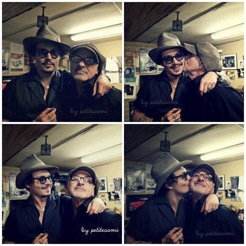 Johnny and Bill being cute
