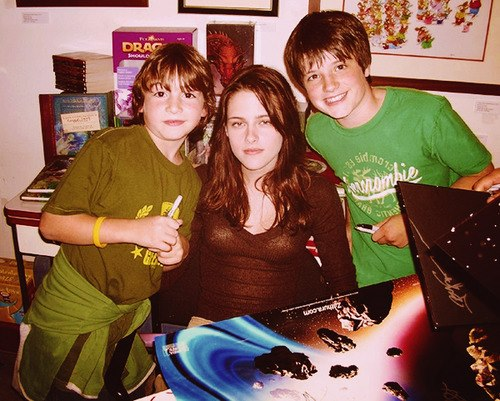 Josh and Kristen Stewart