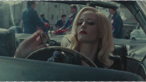 Tim Burton's Dark Shadows wallpaper probably containing an automobile titled Julia and Angelique are my absolute favs;)