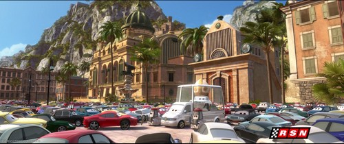 Disney Pixar Cars 2 wallpaper with a street called Ka-Ciao Italy