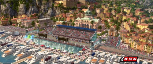 Disney Pixar Cars 2 wallpaper probably containing a business district, a resort, and a theater titled Ka-Ciao Italy