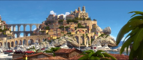 Disney Pixar Cars 2 wallpaper called Ka-Ciao Italy