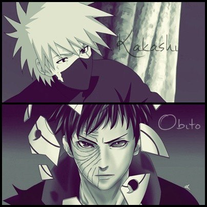 Kakashi and Obito