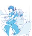 Kakashi annoys Obito
