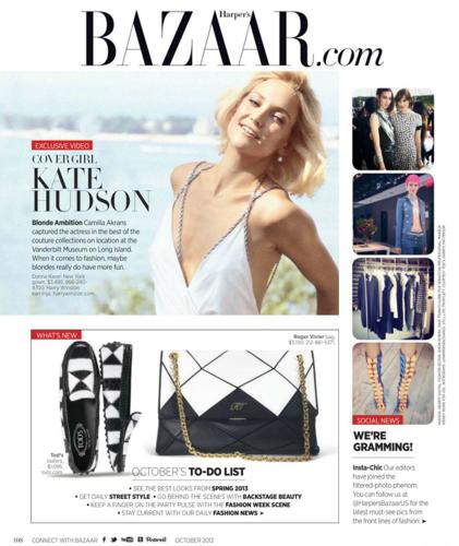Kate - Harper's Bazaar (US) - October 2012