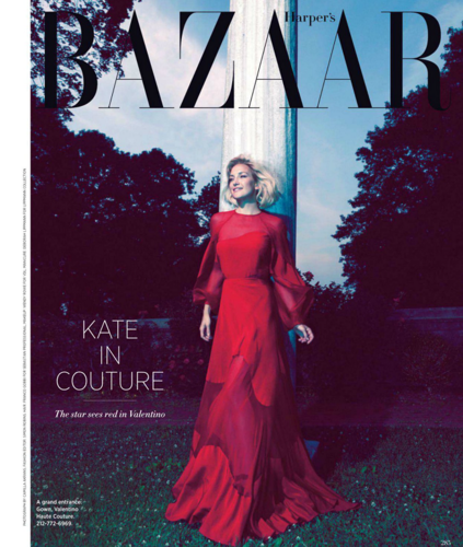 Kate - Harper's Bazaar (US) - October 2012