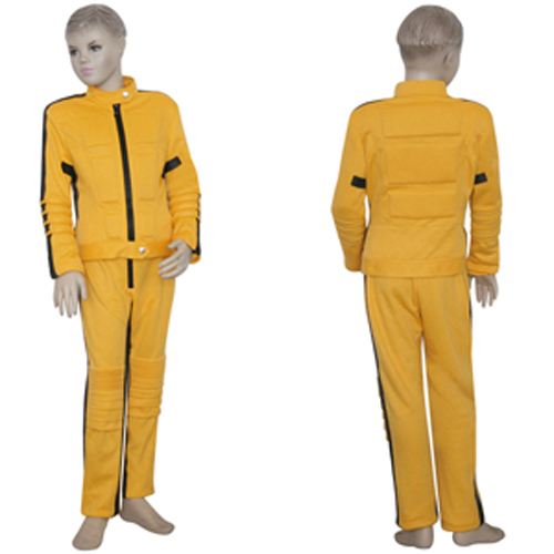 Kill Bill wallpaper containing a well dressed person, a business suit, and a suit titled Kill Bill The Bride Kids Cosplay Costume