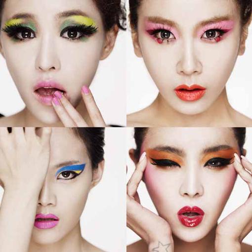 Makeup korean girl band brown eyed girls makeup